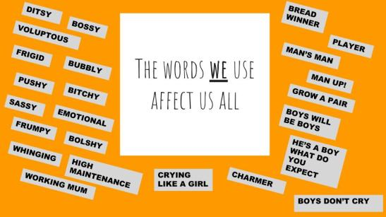 words we use